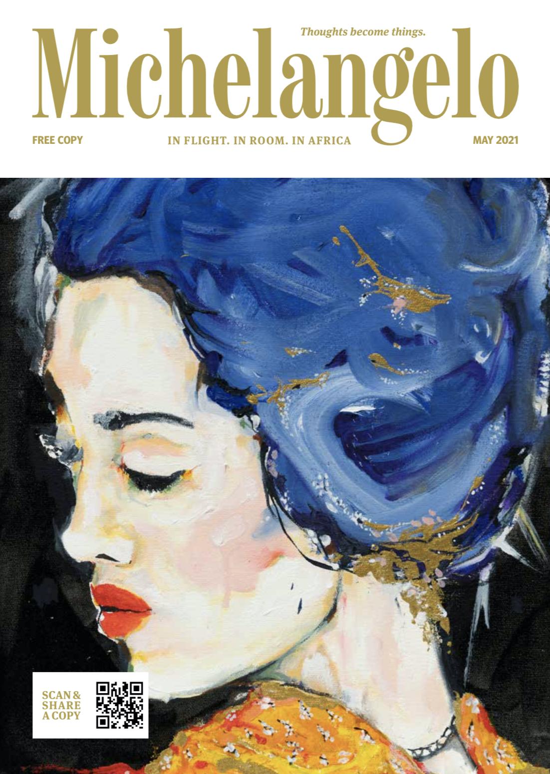 Michaelangelo Cover May 2021